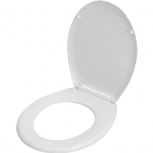 Celmac SVP1SWH White Celmac VIP Soft-Close Toilet Seat